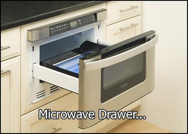Microwave-Drawer