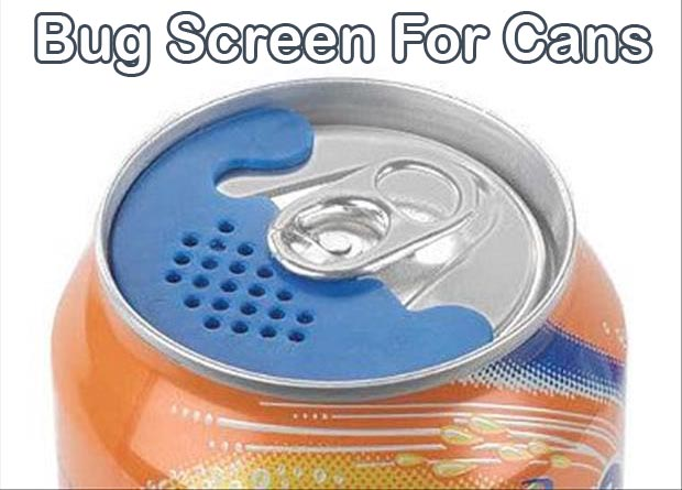 bug screen for cans