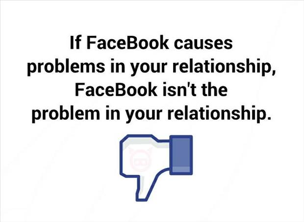 facebook causes problems in your relationship