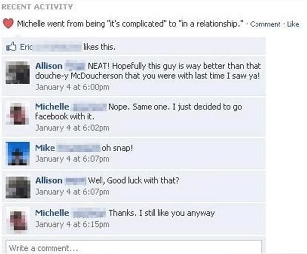 Complicated (and funny) Relationship Statuses On Facebook ...