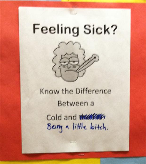 Feeling Sick Quotes Funny