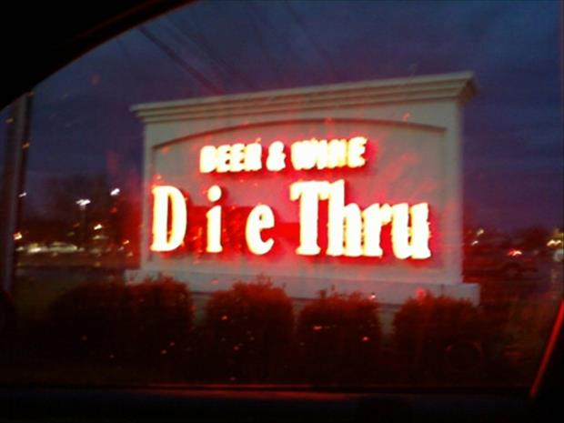 32 Business Signs That Are Funnier At Night
