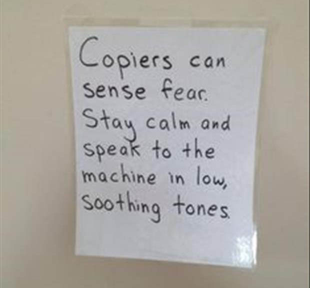 Funny Office Signs And Sayings Just B Cause