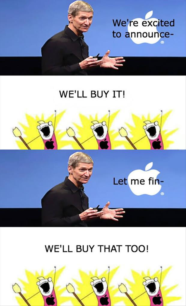 lets buy all apple products