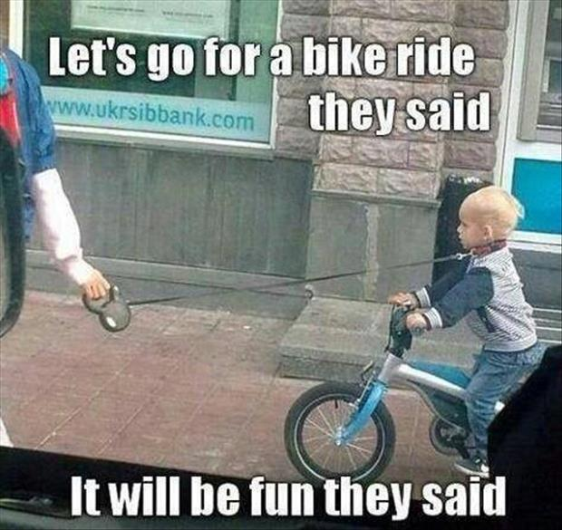lets go for a bike ride