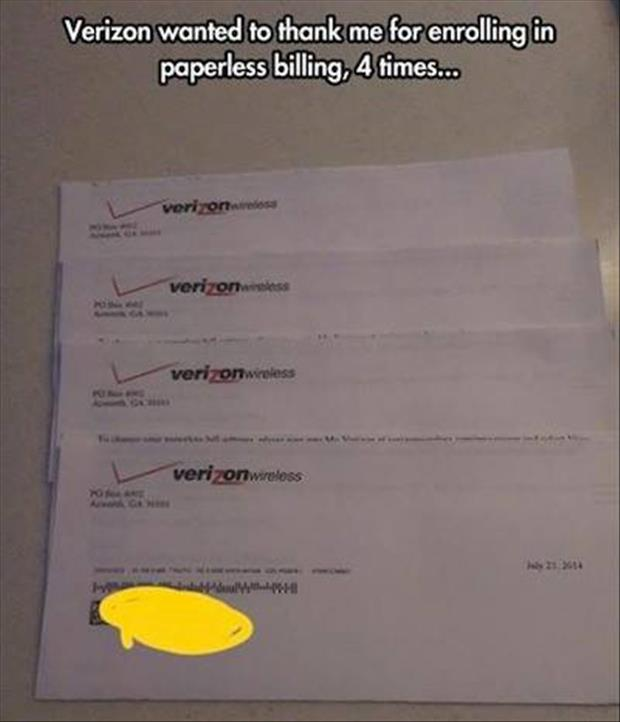 paperless billing
