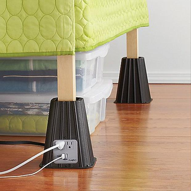 plugin outlets for your bed