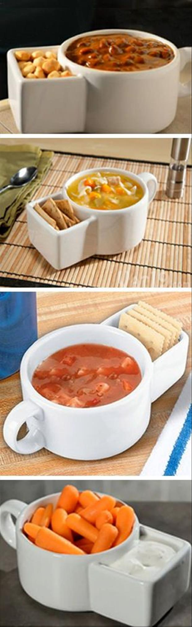 soup and cracker bowl