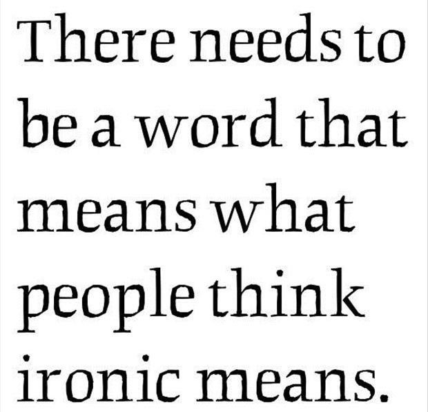 there needs to be a word