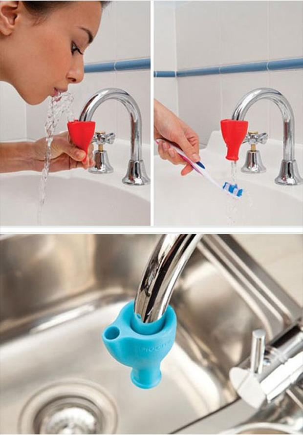 toothpaste water fountain