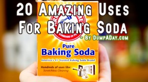Top 20 Uses For Baking Soda You Probably Never Knew About