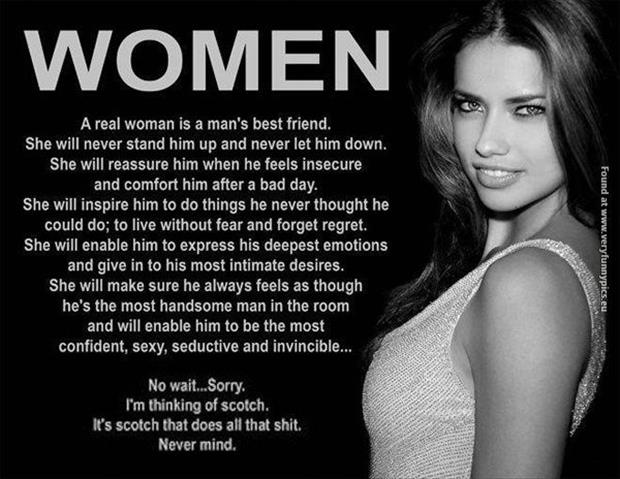 what a woman should do