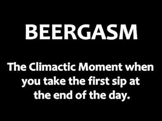 what is a beergasm