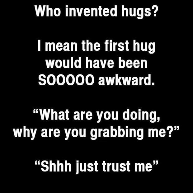 who invented the hug