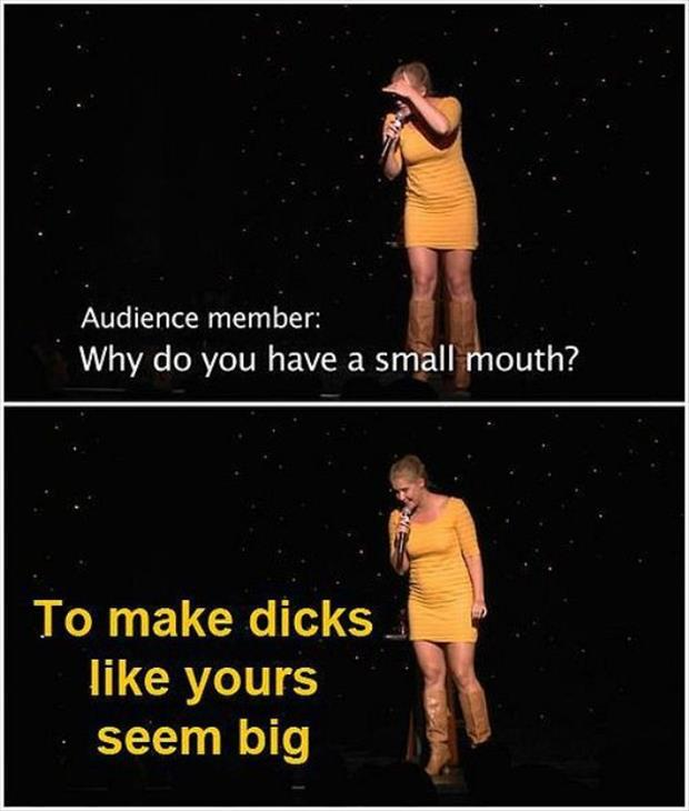 why do you have a small mouth