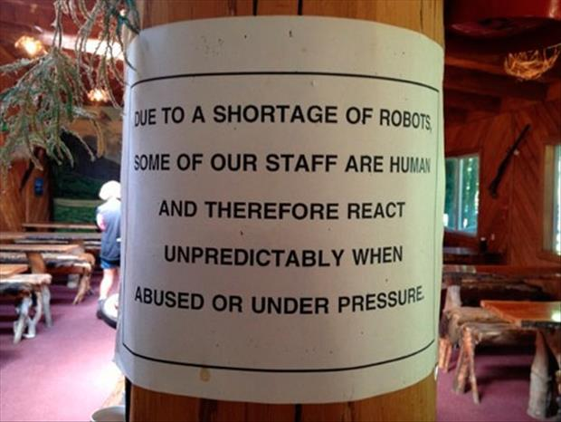 work signs