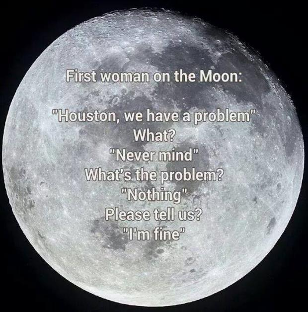 first woman on the moon