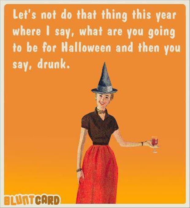 lets not get drunk this halloween