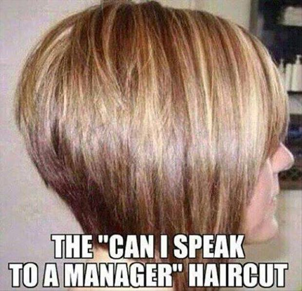 speak to the manager