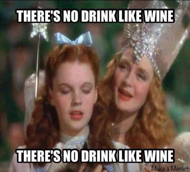 there is no drink like wine