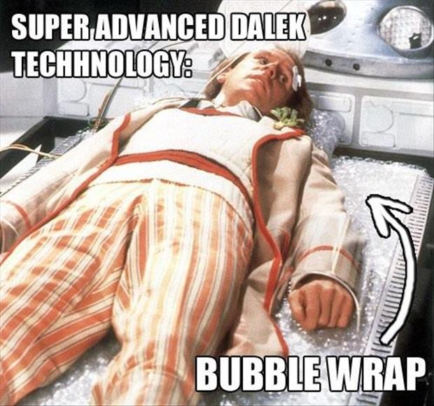 they are using bubble wrap