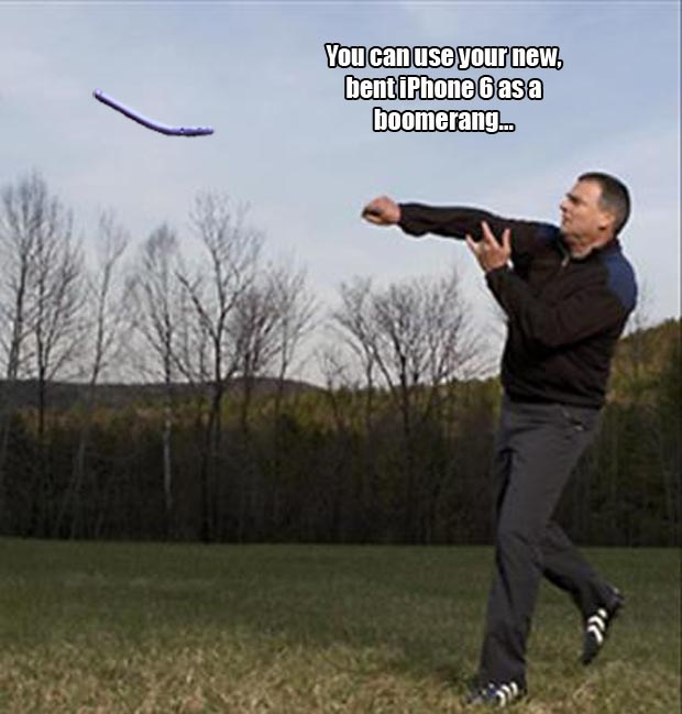 throwing a boomerang