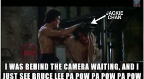 Jackie Chan's Happiest Moment As An Actor Was Being Hit By Bruce Lee – 8 Pics