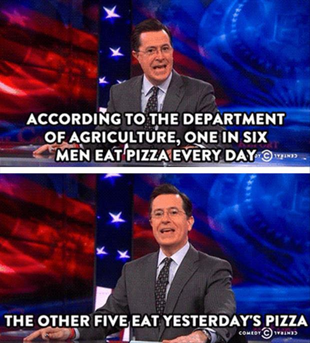 eating pizza every day
