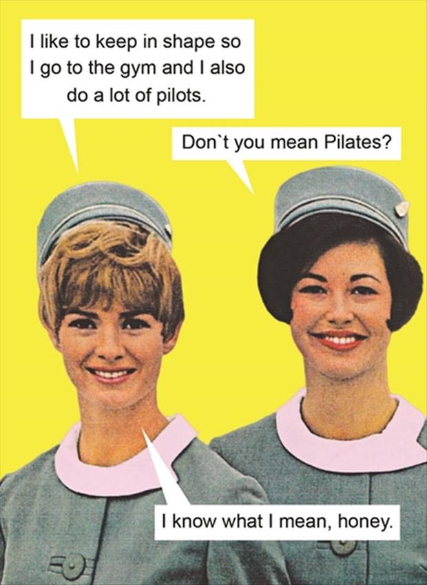 flight attendants and pilots