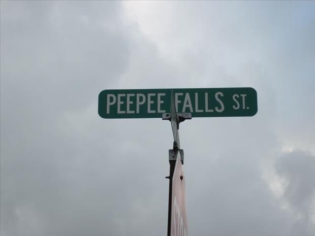 Funny Street Sign Names Wait, You Live On What...