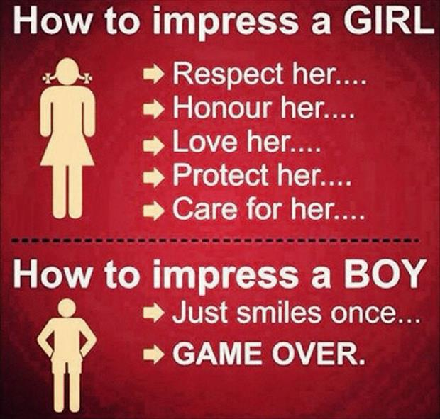 how to impress a woman