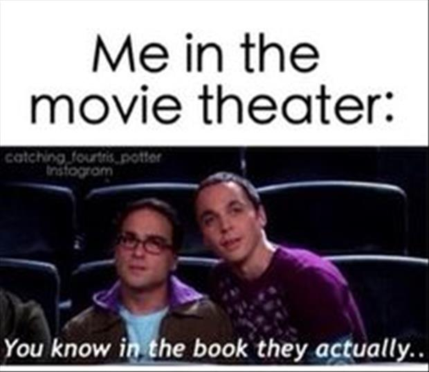 me in the movie theater