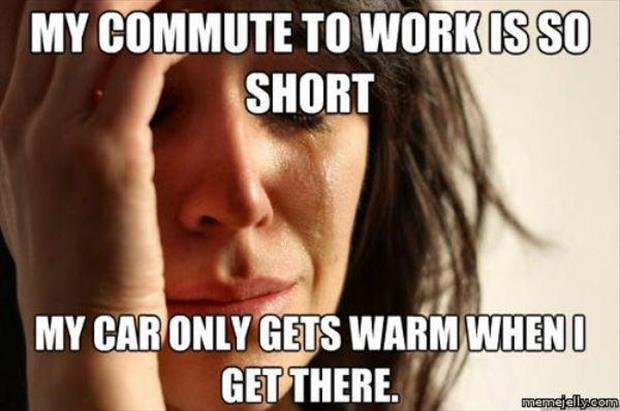 my car gets warm in the winter