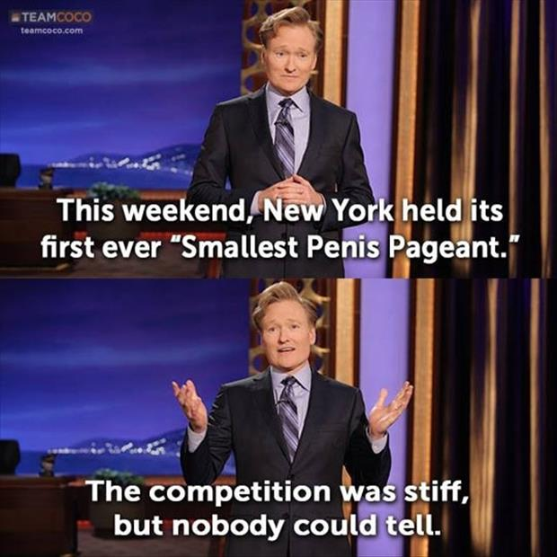 smallest penis pagent