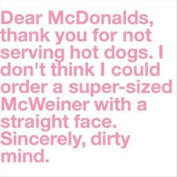 thanks mcdonalds