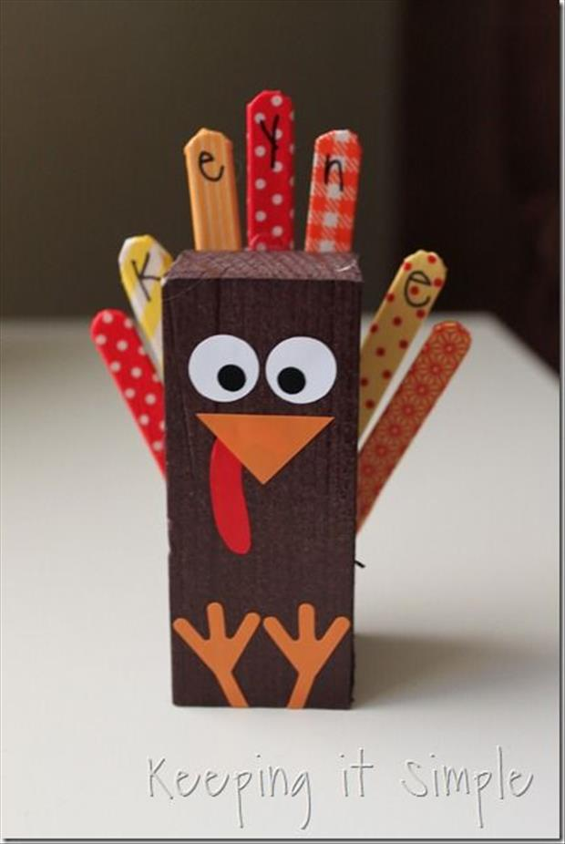 top ten thanksgiving day craft ideas