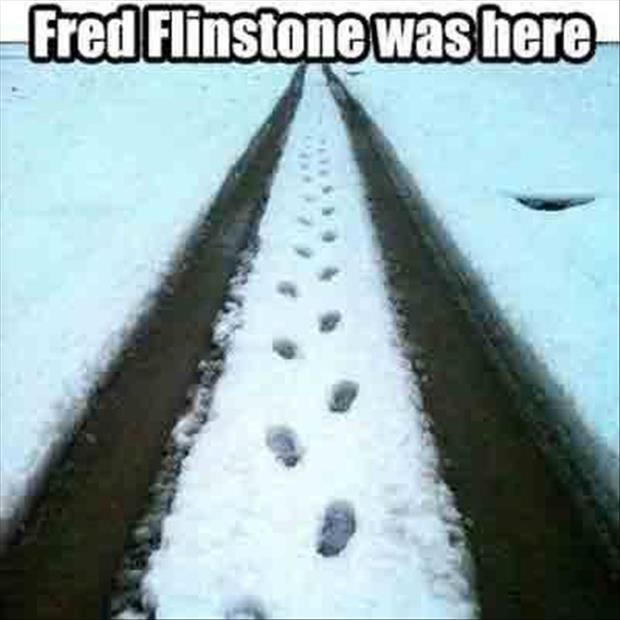 the flinstones were here