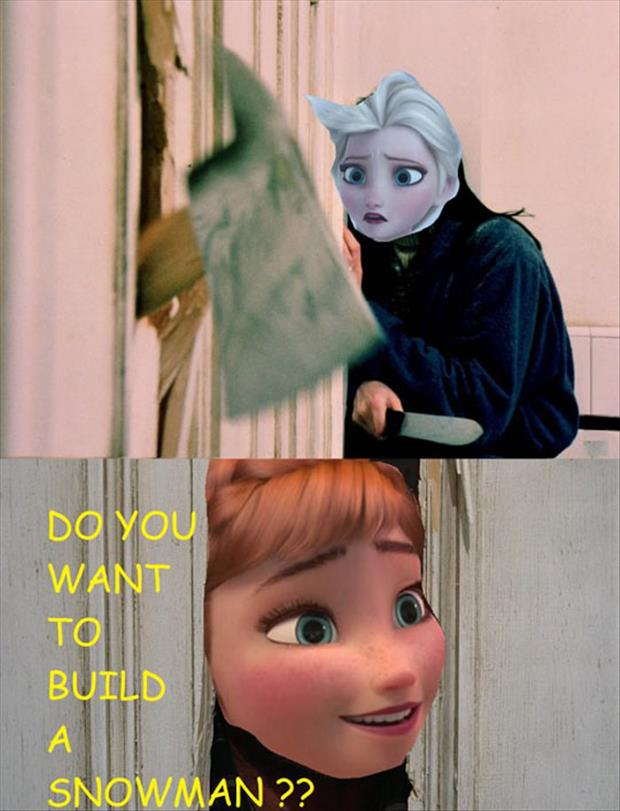 want to build a snowman