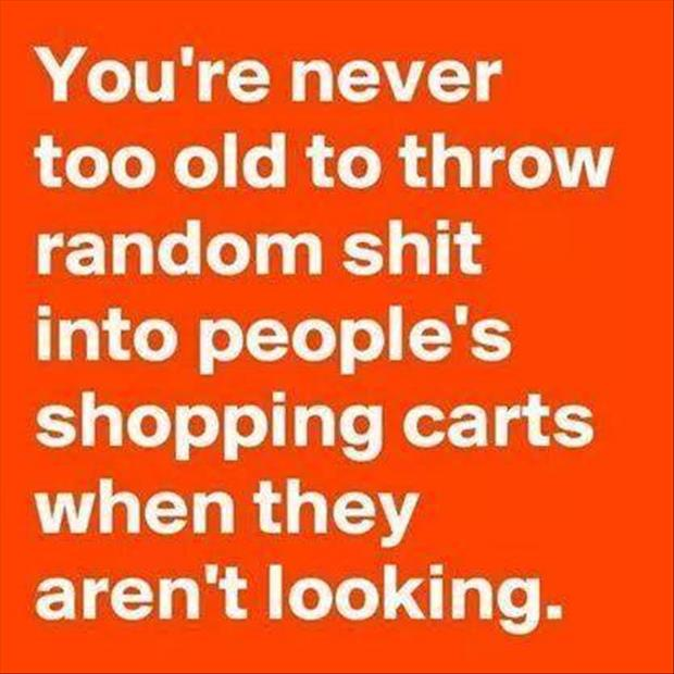you're never to old