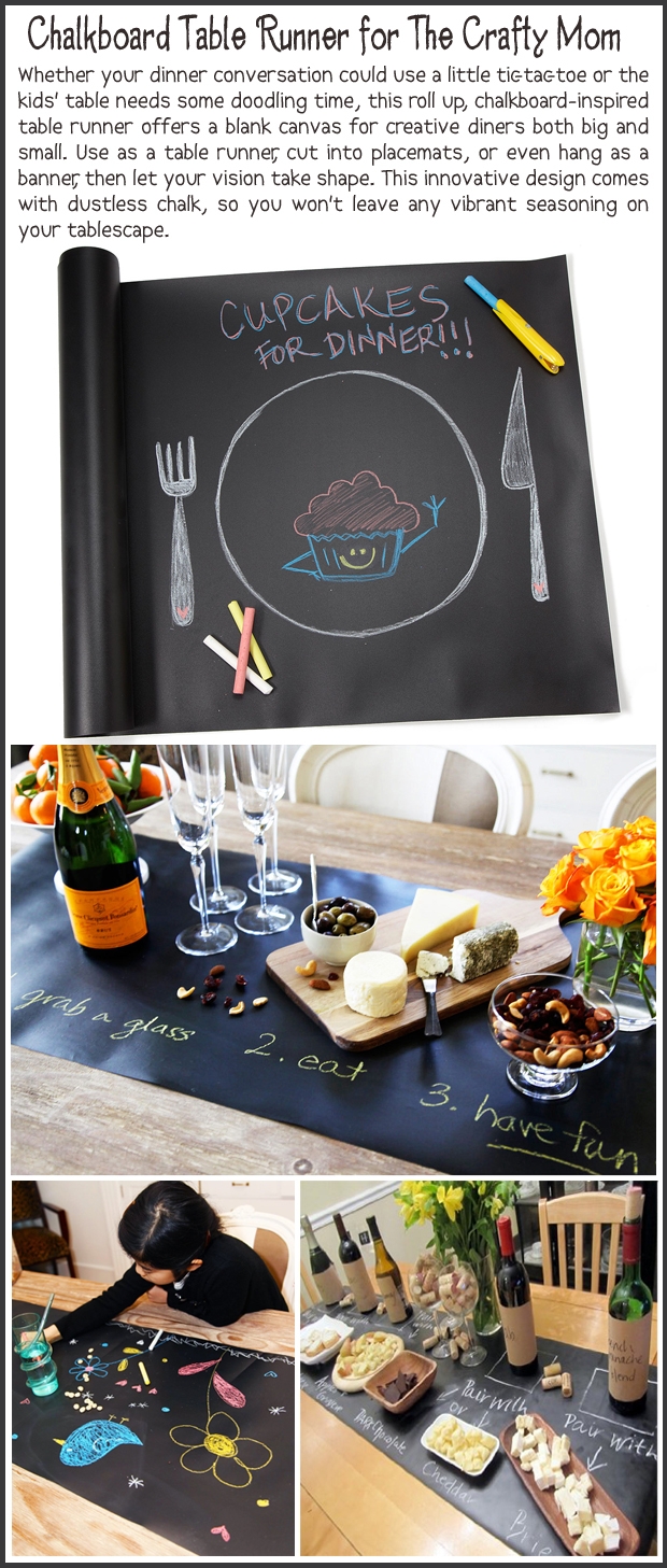 Fun Christmas Gift Ideas- Chalkboard Runner