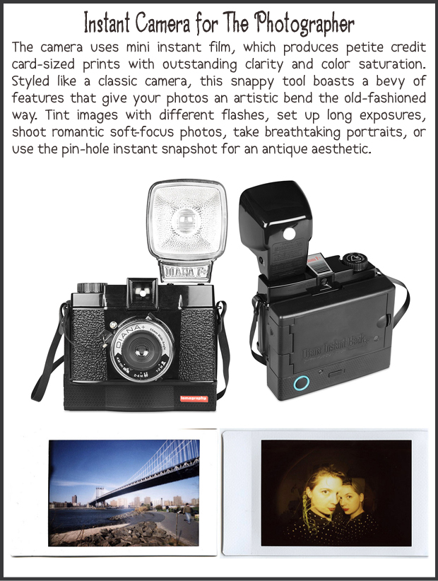 Fun Christmas Gift Ideas- Instant Camera