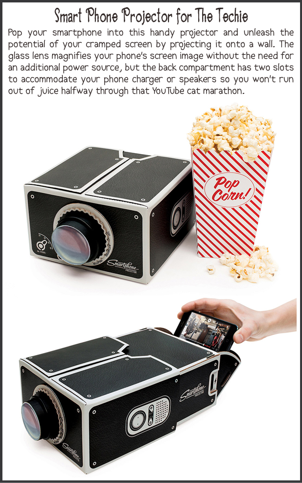 Fun Christmas Gift Ideas- Smart Phone Projector