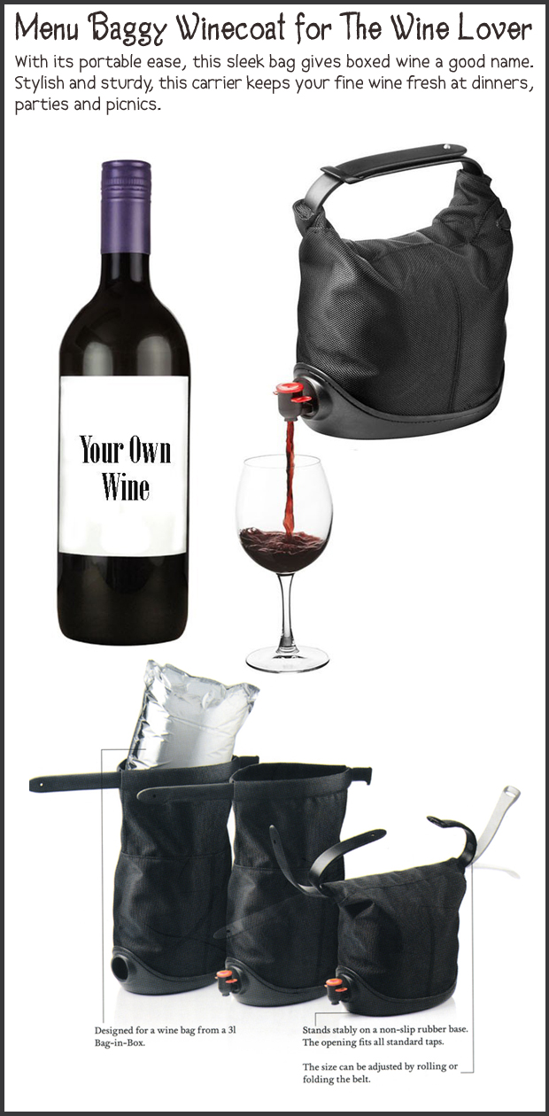 Fun Christmas Gift Ideas- Wine baggy