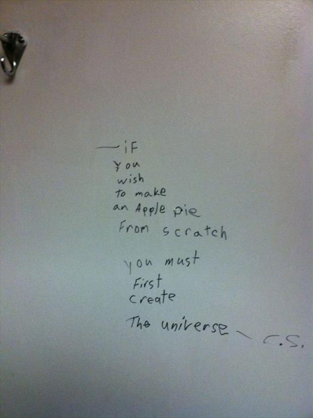 Great Bathroom Stall Quotes stall wall wisdom at it's finest - 28 pics