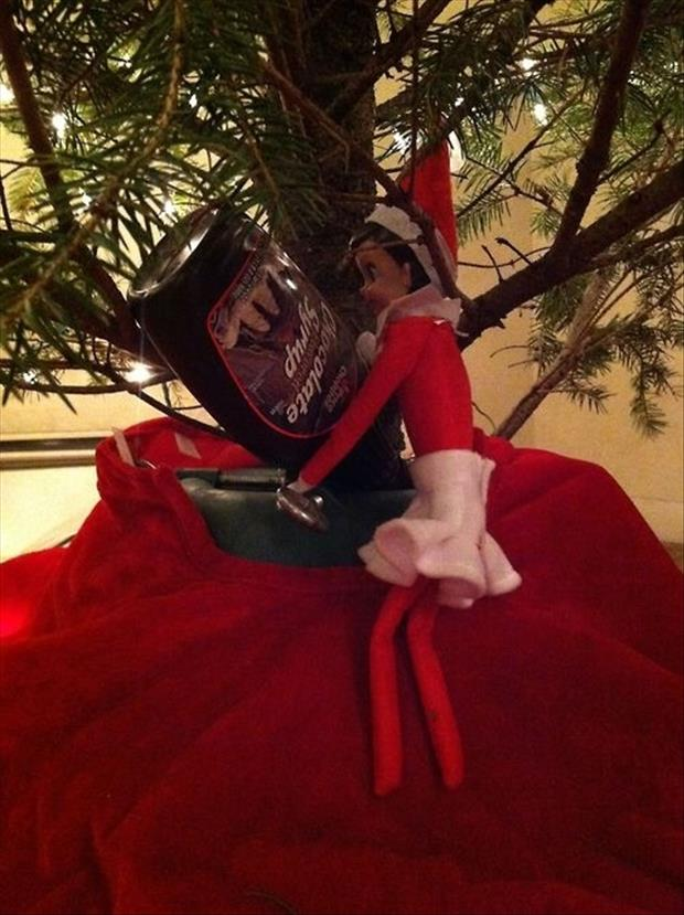 funny elf on the shelf (19)