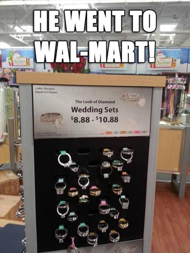 he went to wal mart
