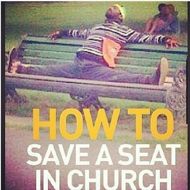 how to save a seat