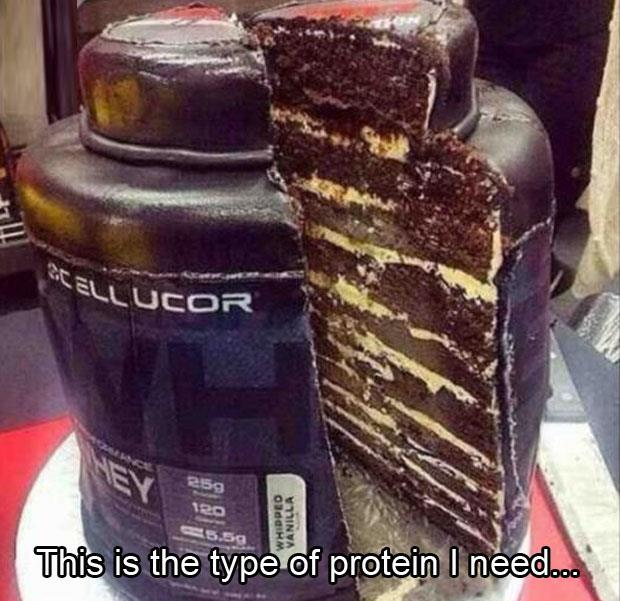 just the type of protein I need