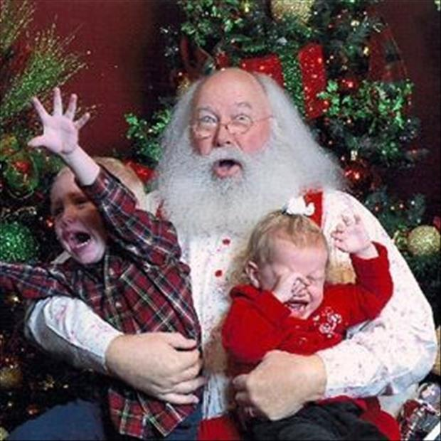 Public Domain Images Of Kids On Santa S Lap