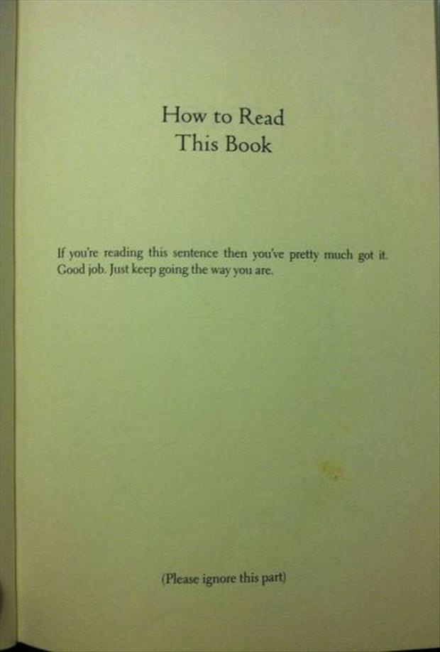 please read my book